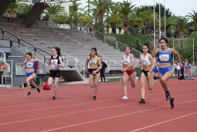 Buenas marcas en el control disputado en Murcia para atletas del UCAM Cartagena - 1, Foto 1