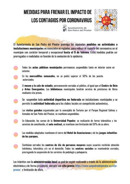 Las medidas para frenar el impacto de los contagios se prorrogan hasta el 9 de febrero - 2, Foto 2