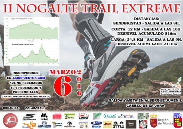 Últimos días para inscribirte en la II Nogalte Trail Extreme - 1, Foto 1