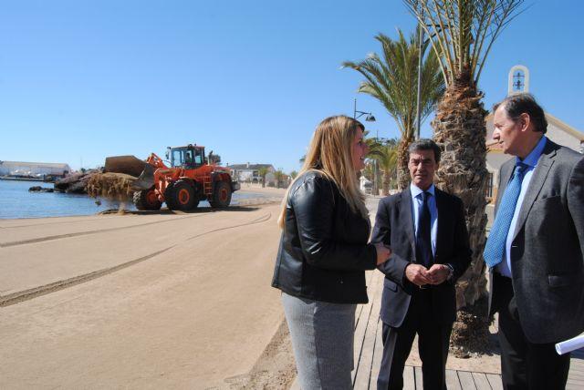Las obras de emergencia para la regeneración de las playas de Mazarrón afectadas por el temporal terminarán antes de final de mes - 3, Foto 3