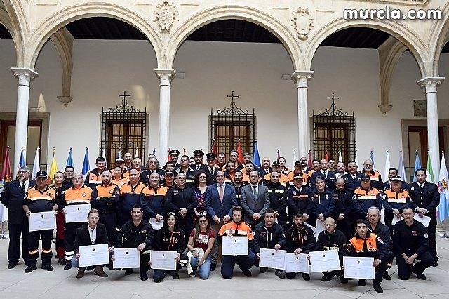Pedro Antonio Sánchez: Protección Civil representa esa alianza de solidaridad e implicación cuando la gente más lo necesita, Foto 1