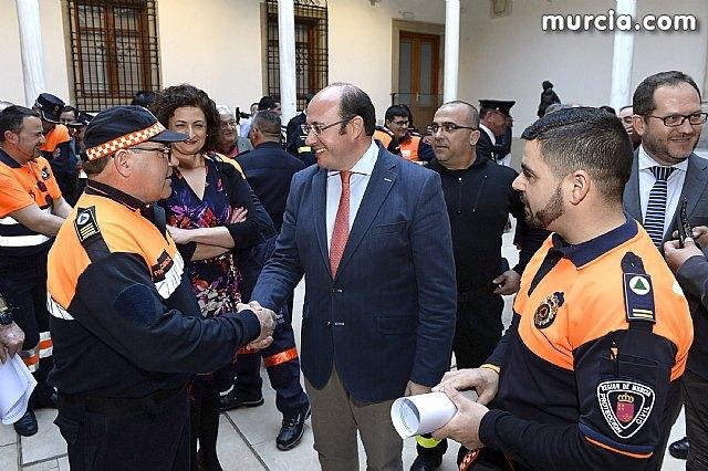 Pedro Antonio Sánchez: Protección Civil representa esa alianza de solidaridad e implicación cuando la gente más lo necesita, Foto 2