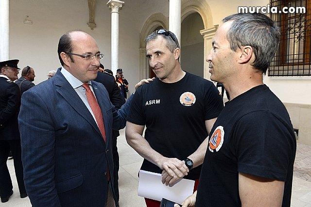 Pedro Antonio Sánchez: Protección Civil representa esa alianza de solidaridad e implicación cuando la gente más lo necesita, Foto 3
