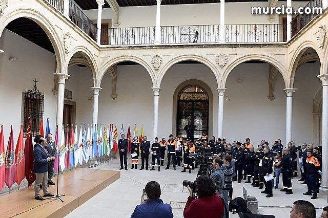 Pedro Antonio Sánchez: Protección Civil representa esa alianza de solidaridad e implicación cuando la gente más lo necesita, Foto 5