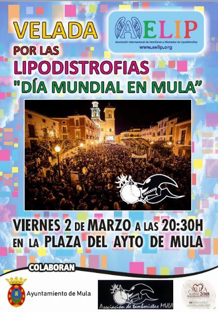 Mañana viernes, 2 de marzo, se celebrará en Mula una Velada por las lipodistrofias - 1, Foto 1