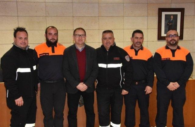 Protección Civil de Totana pretende ampliar y mejorar a partir de este año los servicios que se prestan en el municipio, Foto 1