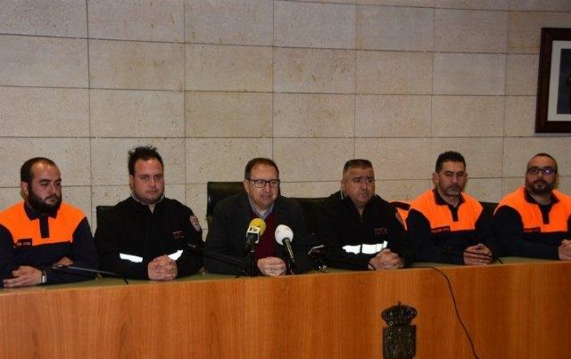 Protección Civil de Totana pretende ampliar y mejorar a partir de este año los servicios que se prestan en el municipio, Foto 2