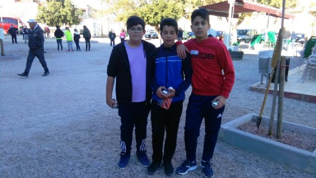 Totana hosted the Regional Final of School Sports Petanque