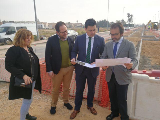 La Comunidad invierte 366.000 euros para mejorar diversas calles de San Javier - 1, Foto 1