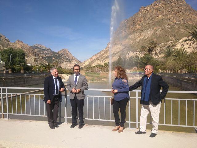 La Comunidad invierte 115.000 euros en Ojós para renovar el entorno urbano de la ribera del río Segura y dotar de sombra su anfiteatro - 1, Foto 1