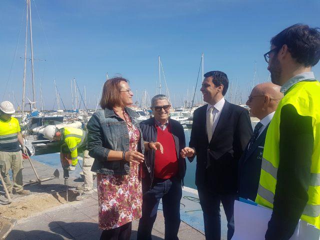 Fomento inicia las obras del Varadero del puerto de San Pedro que mejorarán la seguridad y el medio ambiente del entorno - 2, Foto 2