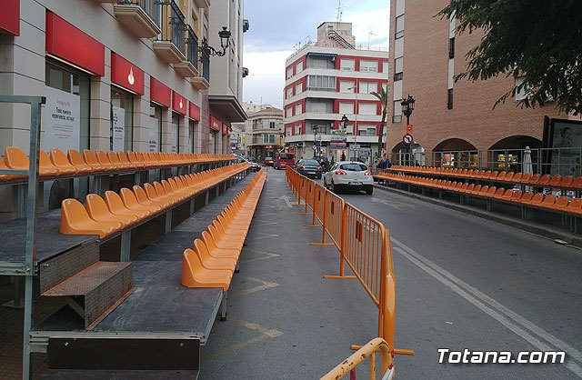 The capacity of the stands is extended to see the carnival of Totana tomorrow - 1