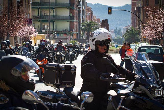 Down Cieza recibe parte de la recaudación de la ruta motera Floración de Los Dormis que atrajo mil motos y millar y medio de personas - 2, Foto 2