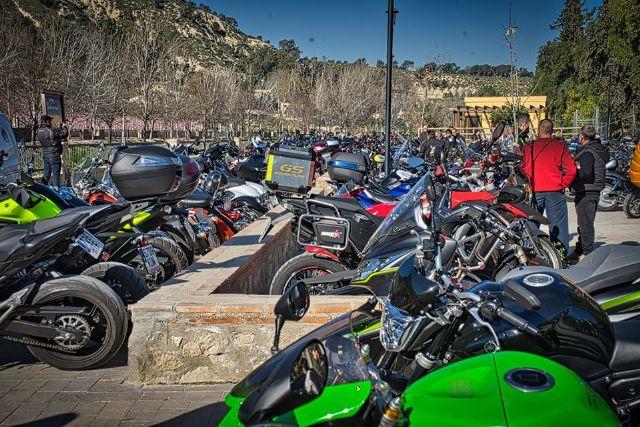 Down Cieza recibe parte de la recaudación de la ruta motera Floración de Los Dormis que atrajo mil motos y millar y medio de personas - 3, Foto 3