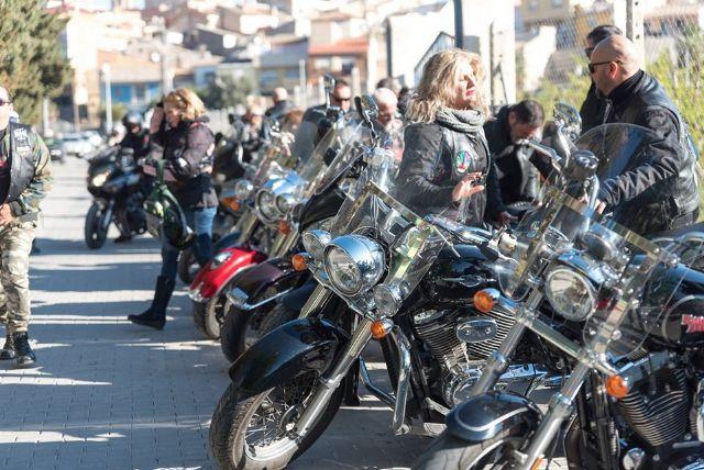 Down Cieza recibe parte de la recaudación de la ruta motera Floración de Los Dormis que atrajo mil motos y millar y medio de personas - 4, Foto 4