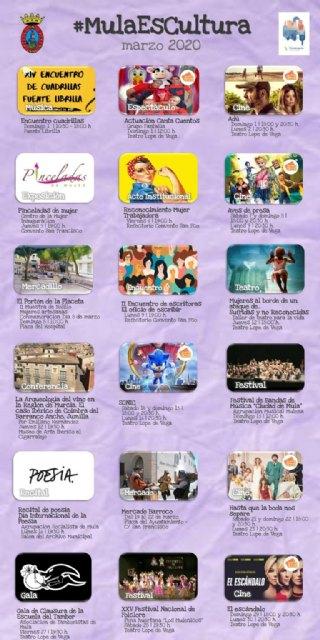 Agenda Cultural de Marzo - Mula 2020 - 2, Foto 2