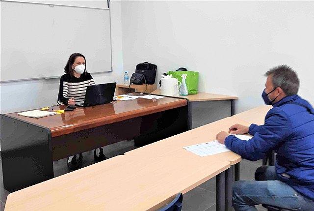 101 usuarios se han beneficiado del Servicio de Integración Laboral de FAMDIF en Cieza durante el 2020 - 1, Foto 1