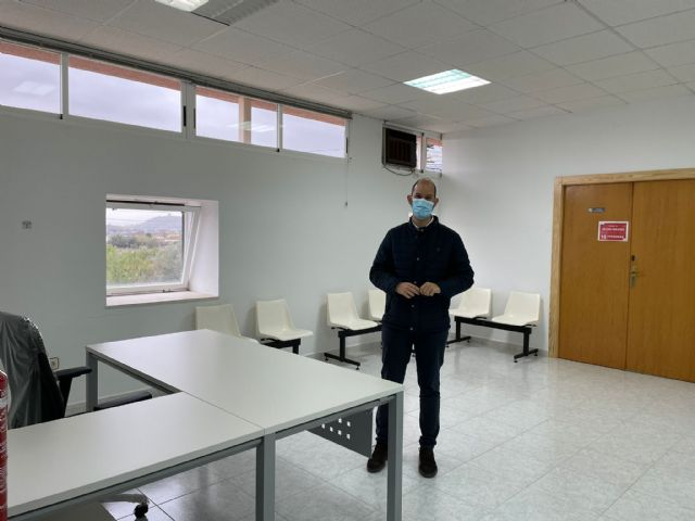 El Ayuntamiento de Lorca posibilita la reapertura del consultorio de El Consejero con la habilitación de un espacio para sala de espera y una nueva zona de administración - 1, Foto 1