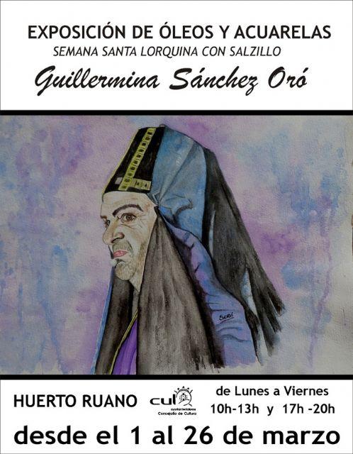 A partir de este lunes, 1 de marzo, se recuperarán las exposiciones en el Palacete Huerto Ruano de Lorca - 1, Foto 1