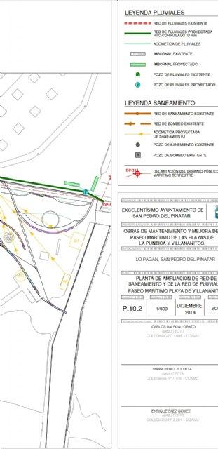 En Por Un Mar Vivo / Por Un Mar Menor Vivo, hemos estudiado con especialistas los planos de las obras de la reforma del paseo de San Pedro Del Pinatar - 2, Foto 2