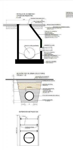En Por Un Mar Vivo / Por Un Mar Menor Vivo, hemos estudiado con especialistas los planos de las obras de la reforma del paseo de San Pedro Del Pinatar - 3, Foto 3