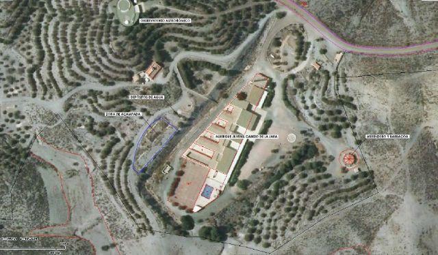 El Cabezo de la Jara contará con un merendero y zona de acampada gracias a un proyecto de CAMPODER y Ayuntamiento de Puerto Lumbreras - 2, Foto 2