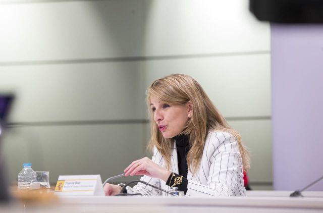 Yolanda Díaz y el viceprimer ministro belga acuerdan impulsar un grupo de trabajo para promover la propuesta de directiva de Salario Mínimo europeo - 2, Foto 2