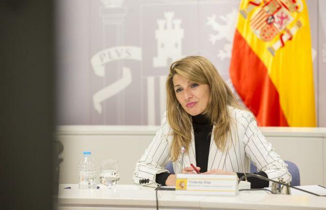 Yolanda Díaz y el viceprimer ministro belga acuerdan impulsar un grupo de trabajo para promover la propuesta de directiva de Salario Mínimo europeo - 3, Foto 3