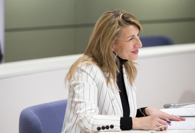 Yolanda Díaz y el viceprimer ministro belga acuerdan impulsar un grupo de trabajo para promover la propuesta de directiva de Salario Mínimo europeo - 5, Foto 5