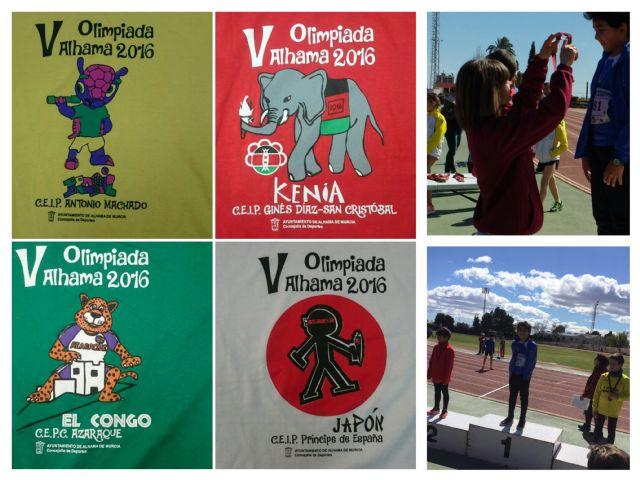 V Olimpiada Escolar de Alhama de Murcia, Foto 1