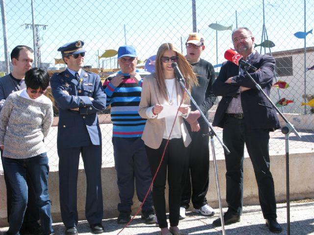 Usuarios de los Centros de Día Princesa Letizia y José Moyá Trilla viven la fiesta anual de su particular Entierro de la Sardina, Foto 5