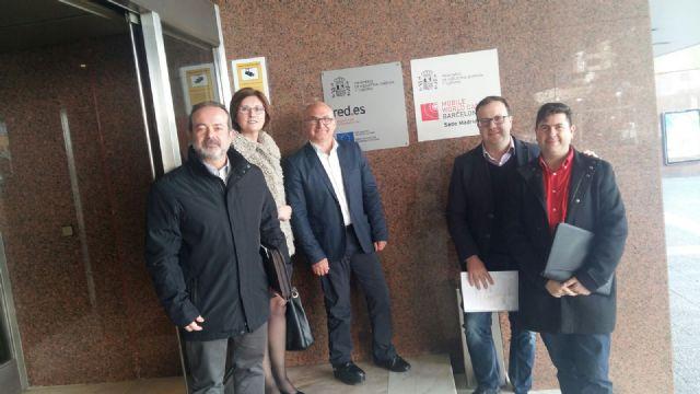 Jumilla defiende en el Ministerio de Industria su proyecto de ciudad inteligente, Foto 1
