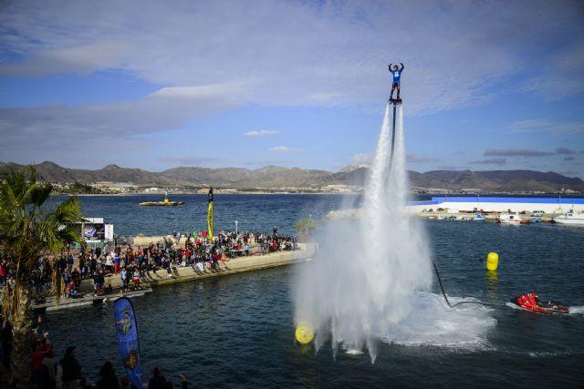 Puerto de Mazarrón acoge con éxito el Campeonato de España de Flyski - 1, Foto 1