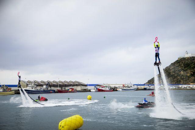 Puerto de Mazarrón acoge con éxito el Campeonato de España de Flyski - 2, Foto 2