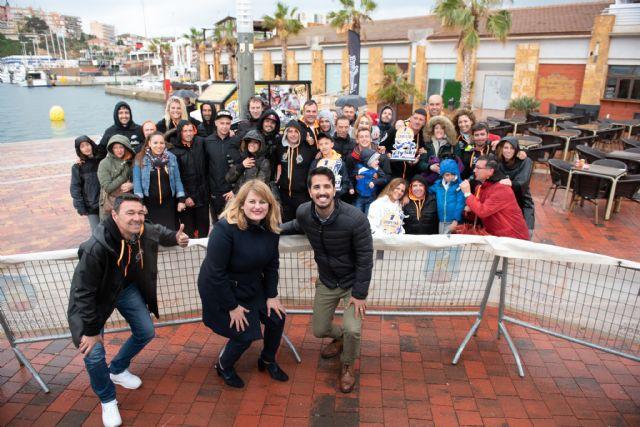 Puerto de Mazarrón acoge con éxito el Campeonato de España de Flyski - 3, Foto 3