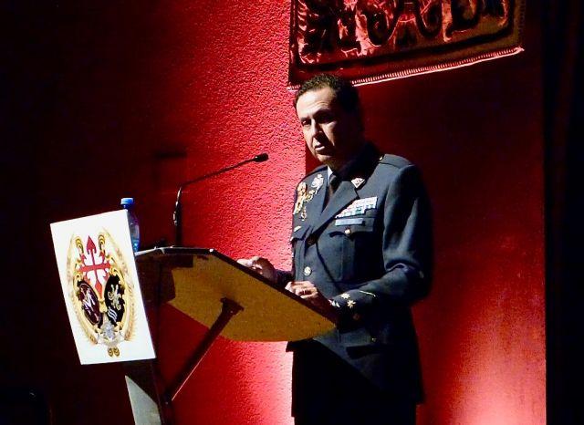 El coronel director de la AGA , Miguel Ivorra pregonó la Semana Santa en Santiago de la Ribera - 1, Foto 1