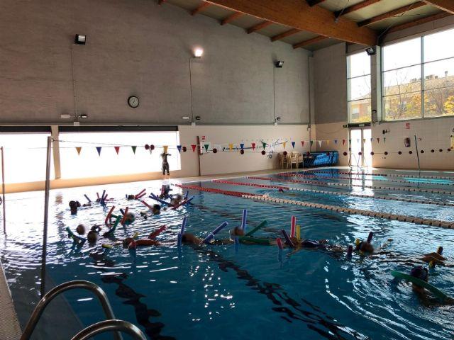Actividades de natación en los colegios de Alhama, Foto 3
