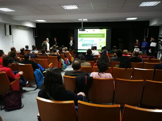 "The conference ""Flora and forests of Sierra Espuña, Challenges to climate change"""