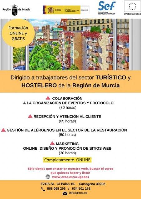 Formación online gratuita dirigida a trabajadores del sector turístico, hostelero y comercio, Foto 1