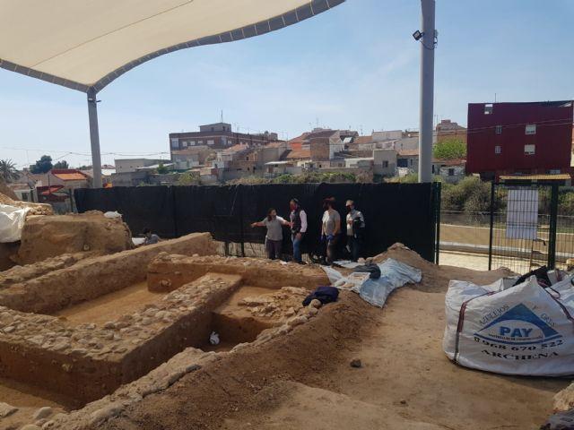 Cultura colabora con el Ayuntamiento de Librilla en la restauración del yacimiento romano de ´El Salitre´ - 1, Foto 1