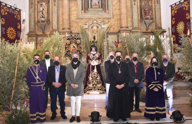 La Cofradía de Nuestro Padre Jesús Nazareno de Calasparra conmemora el tradicional Prendimiento de una manera diferente y única - 1, Foto 1