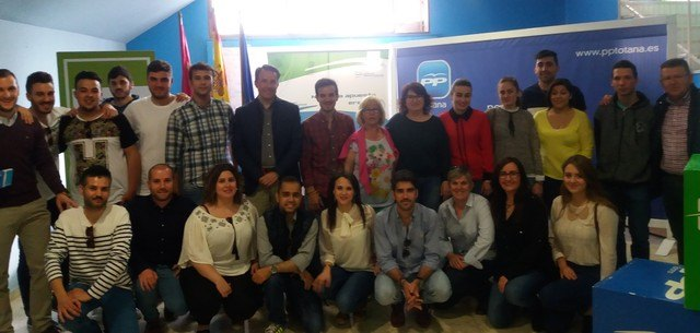 Alfonso Cánovas Urrea nombrado presidente de NNGG del PP de Totana, Foto 1