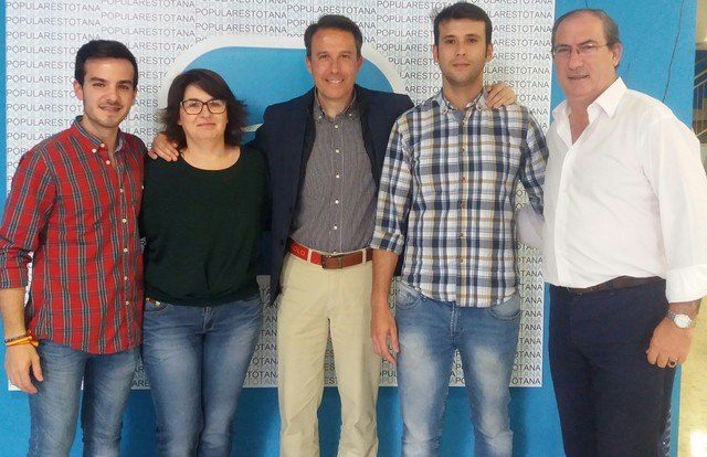 Alfonso Cánovas Urrea nombrado presidente de NNGG del PP de Totana, Foto 2