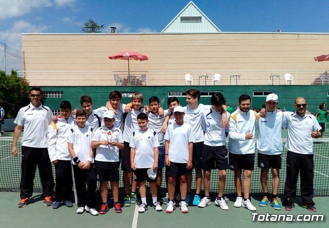 Subcampeonato del Club de Tenis Totana en la Liga Regional Interescuelas 2016/17, Foto 1