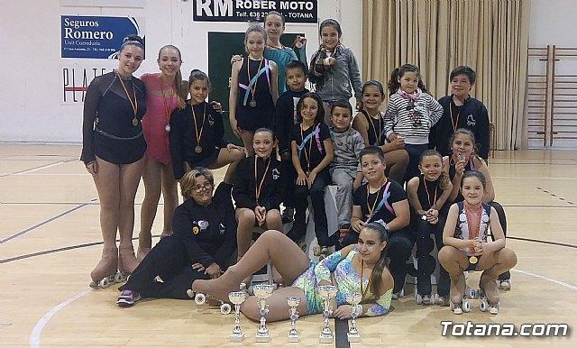 Totana acogió el campeonato regional Solo Danza de patinaje, Foto 1