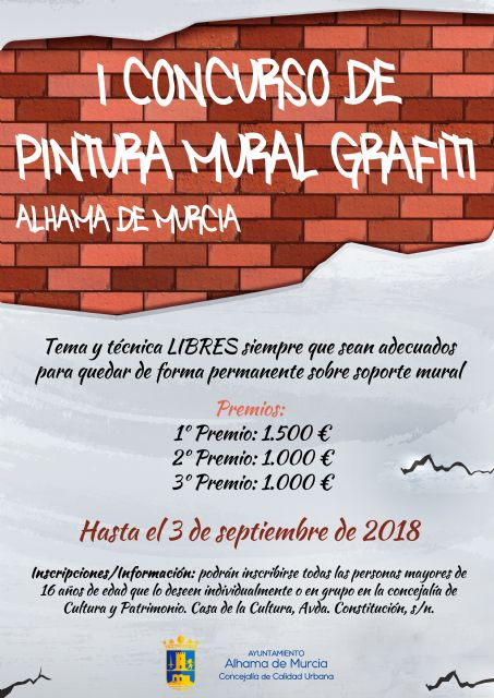 I Concurso de Pintura Mural/Grafiti, con premios de hasta 1.500 euros, Foto 1