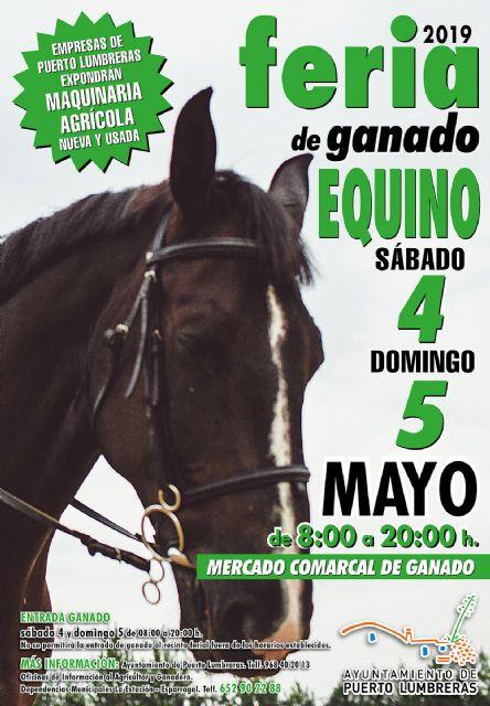 Vuelve la Feria de Ganado Equino a Puerto Lumbreras - 1, Foto 1