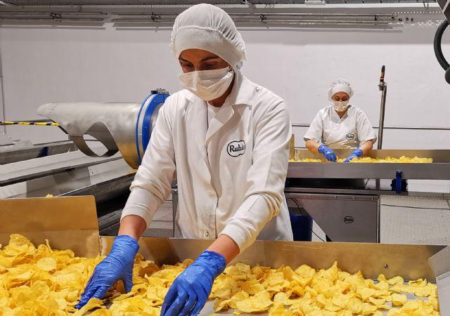 Patatas Rubio afronta la crisis de la COVID-19 fortaleciendo aún más sus protocolos sanitarios - 1, Foto 1