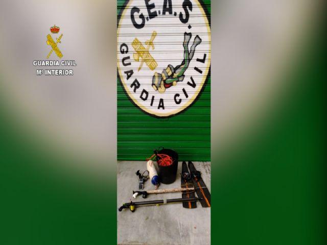 La Guardia Civil sorprende a un veterano de la pesca furtiva en Águilas - 5, Foto 5