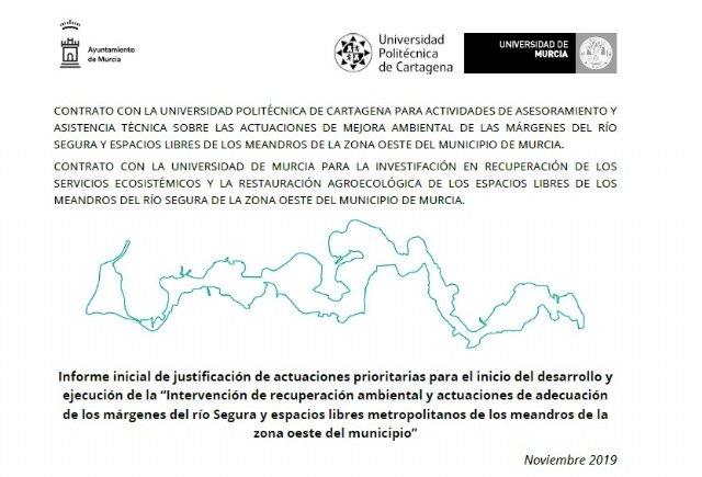 El proyecto Murcia Río de Ballesta, que quieren parar, pretende naturalizar más de 300.000 m2 en ramblas y meandros del Segura - 1, Foto 1